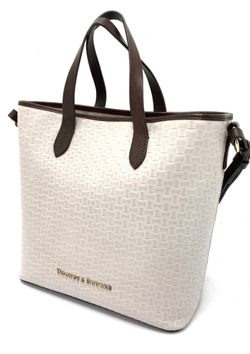 Dooney & Bourke Woven Lilliana Leather Tote