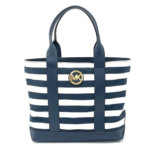 Michael Kors 'Fulton' Striped Tote