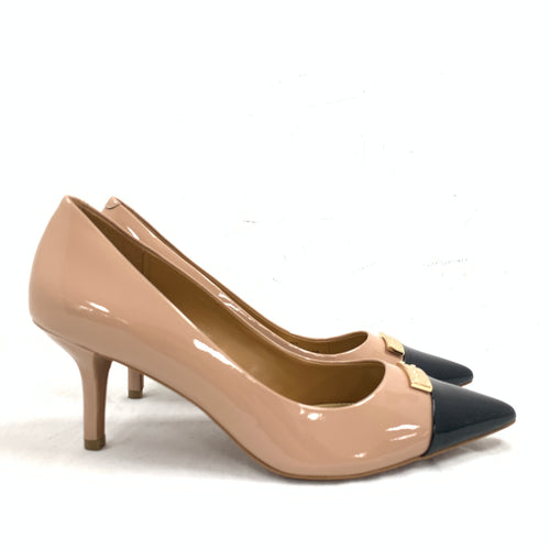 Coach 'Zan' Patent Leather Cap Toe Pumps Size EUR 39.5 / US 9.5