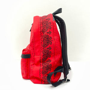 Coach 'Red Bandit' Tiny Dot Campus Backpack