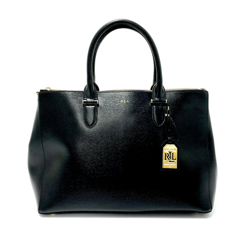 Lauren Ralph Lauren 'Newbury' Double-Zip Satchel