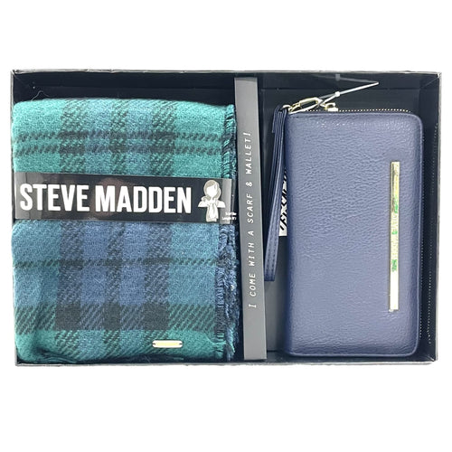 Steve Madden Wallet and Scarf Set