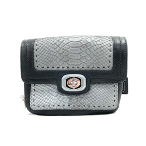 Coach 'Pinnacle' Embossed Exotic Crossbody