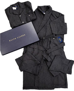 Ralph Lauren Striped Classic Pajama Set