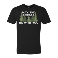 MAY THE FOREST BE WITH YOU T-SHIRT (ADULT)