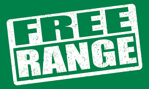 FREE RANGE STICKER