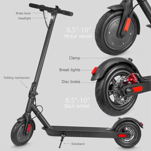 Hot selling 10 inch 350W Fw-10A adult foldable europe warehouse scooter elettrico  scooter