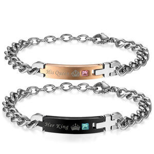His and Hers Couple Bracelets