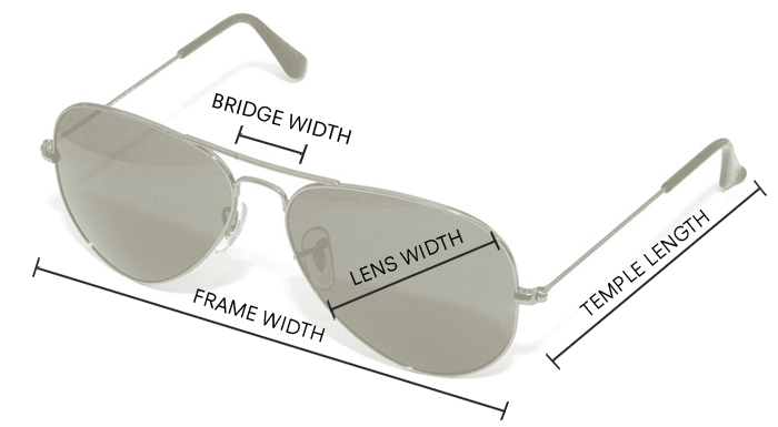 Sizing your Sunglasses
