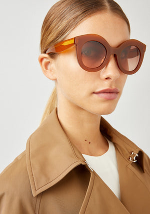Kaleos Shawer Oversized Sunglasses