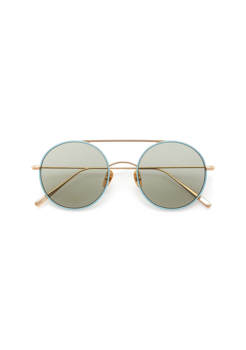 Kaleos Borden Rose Gold Sunglasses