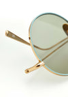 Kaleos Borden Blue/Green Sunglasses