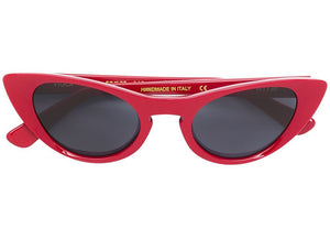 Kyme Viola Red Cateye Sunglasses