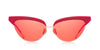 Projekt Produkt FN-CC4 Red Sunglasses