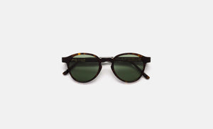 Retrosuperfuture The Iconic Series Tortoise and Green Sunglasses