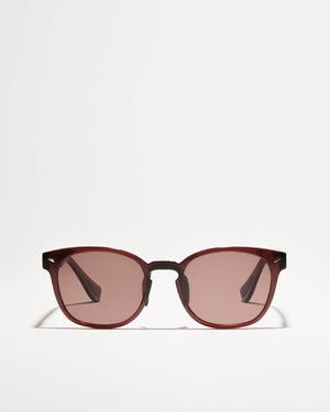 Charles sunglasses from Article One in Wine front view