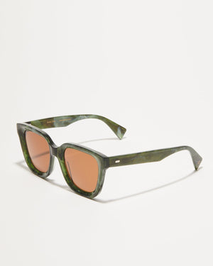 Article One Marion tinted green sunglasses