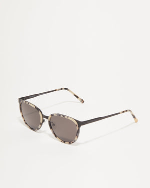 Article One Vista round mixed material sunglasses