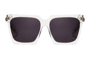 Caliphash Mephisto Clear Sunglasses