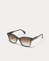 Article One Valentine olive green gradient lens sunglasses