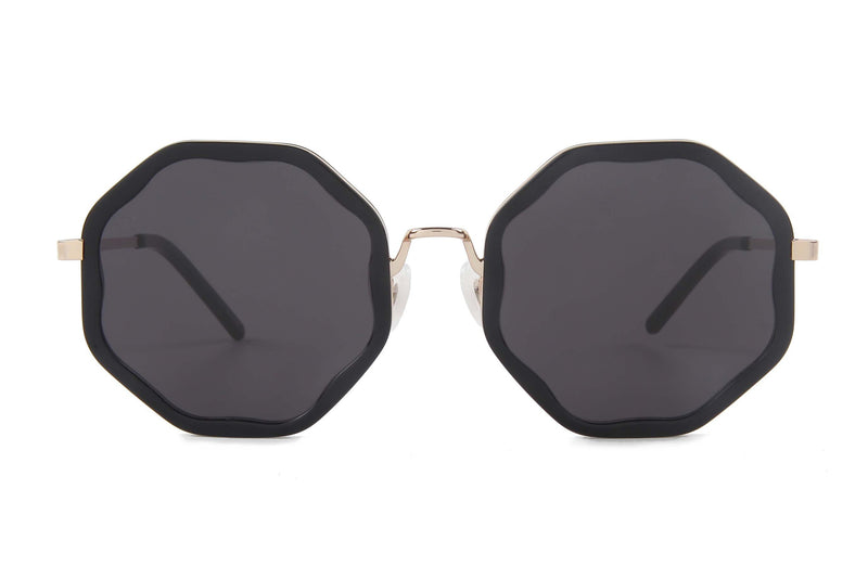 For Art's Sake Smoky Black Sunglasses