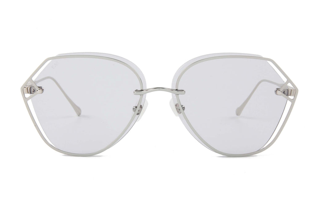 For Art's Sake Virgo Gray Sunglasses