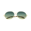 Spektre Gota Gold and Green Sunglasses