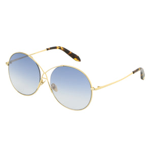 Spektre Gota Gold and Blue Sunglasses