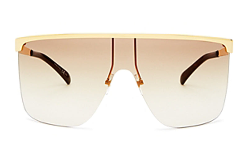 Givenchy Shield Gold Sunglasses