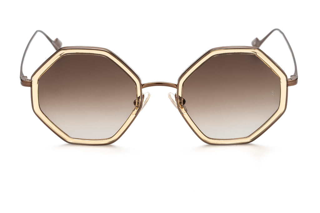 Sunday Somewhere Hitomi Gold Sunglasses