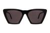 Illesteva Lisbon Black Sunglasses