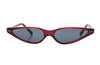 Kyme Gina Red Micro Cateye Sunglasses