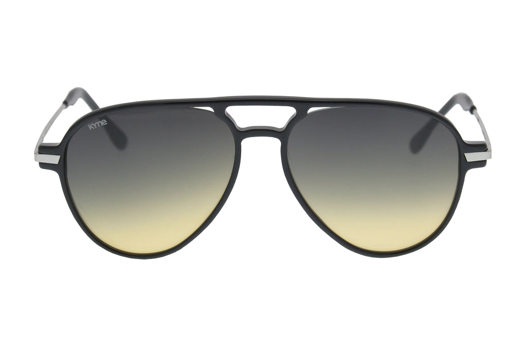 Kyme Louise Black Sunglasses