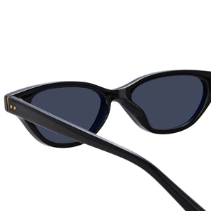 Linda Farrow LFL965 Black Sunglasses