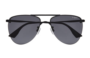 Le Specs The Prince Black Sunglasses