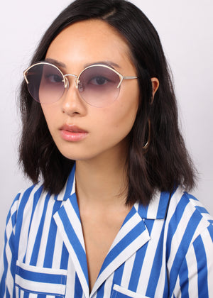 For Art's Sake Margarita Gold Sunglasses