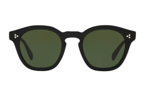 Oliver Peoples Boudreau L.A. Black Sunglasses