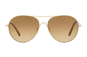 Oliver Peoples Rockmore Gold Sunglasses