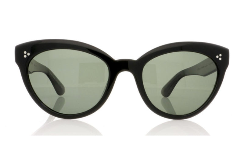 Oliver Peoples Roella Black Sunglasses