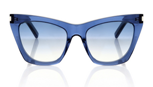 Saint Laurent Kate Blue Sunglasses