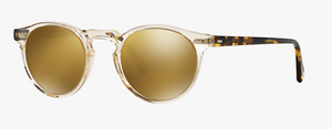 Oliver Peoples Gregory Peck Clear Sunglasses