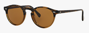 Oliver Peoples Gregory Peck Tortoise Sunglasses