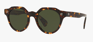 Oliver Peoples Irven Tortoise Sunglasses