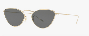 Oliver Peoples Lelaina Gold Sunglasses
