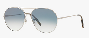 Oliver Peoples Rockmore Silver Sunglasses