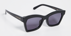 Karen Walker Blessed Black Sunglasses