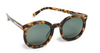 Karen Walker Super Duper Tortoise Sunglasses