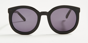 Karen Walker Super Duper Black Sunglasses