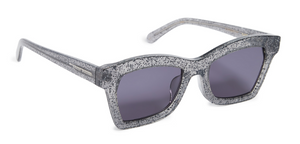 Karen Walker Blessed Clear Glitter Sunglasses
