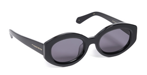 Karen Walker Bishop Black Sunglasses